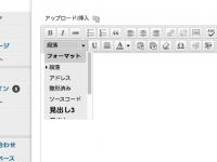 WordPressでビジュアルエディタを利用されている方は必見!見出し1、見出し2を省く方法