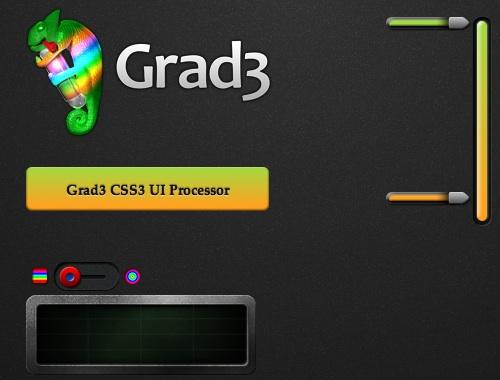 グラデーションボタンの作成に便利「Grad3」