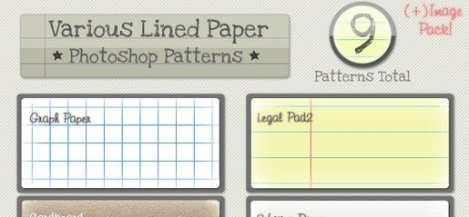 lined-paper-patterns