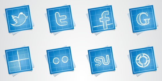 16-free-blueprint-social-media Icons - Double-J Design