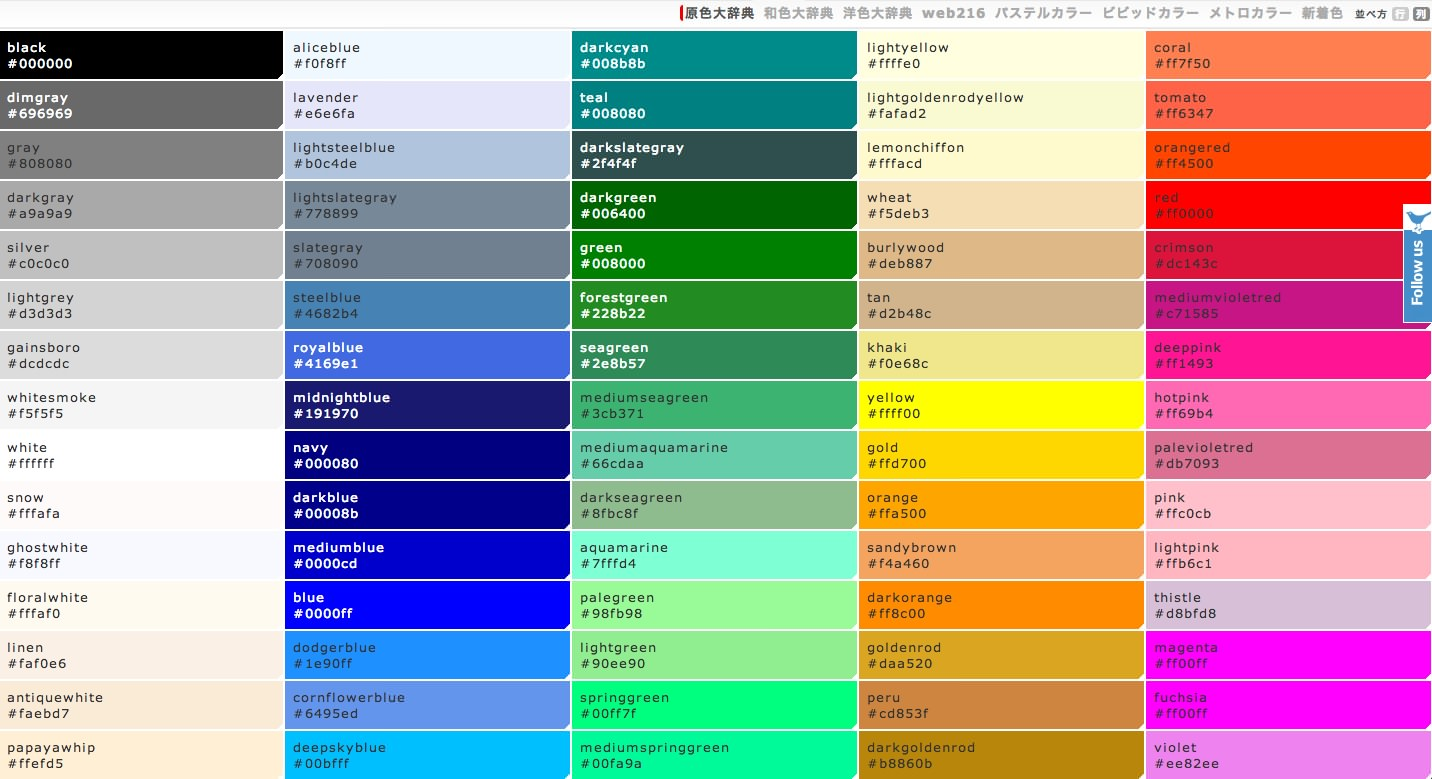 Html Color Html Colors