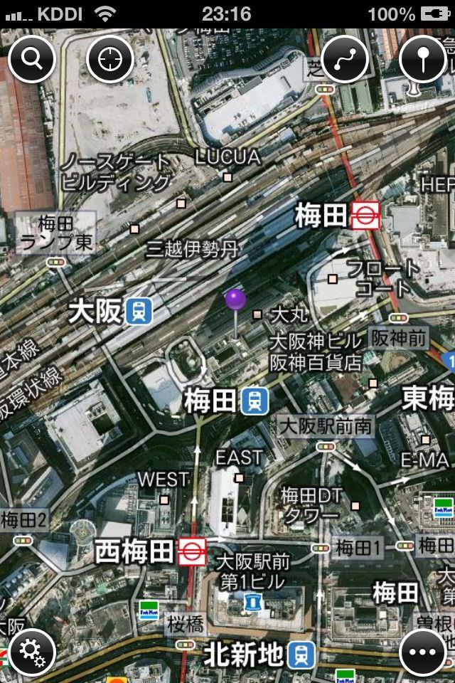 自転車の google maps 自転車 ルート : iOS6 標準マップアプリの代わり ...