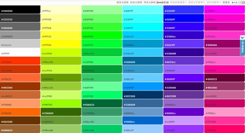 Web Safe Colors