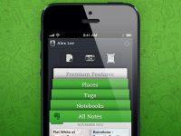 Evernoteがデザインを一新したEvernote 5 iPhone、iPad and iPod touchを近日リリース!