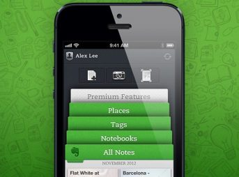 Evernote 5 for iPhone