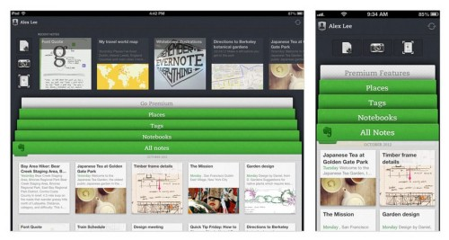 Evernote for iPhone, iPad, and iPod Touch