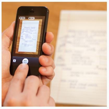 Evernote5 Phone and iPad