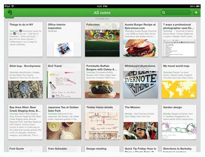 Evernote5 iphone