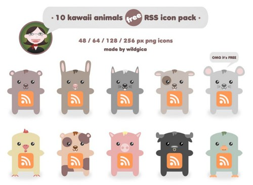 Kawaii animals RSS