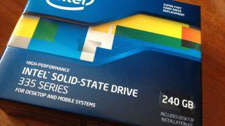Inter 335 Series SSDSC2CT240A4K5 を購入してみました!