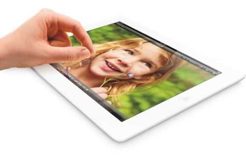 AppleがiPad Retinaディスプレイ(第4世代)の128GBモデルを2013年2月5日から発売と発表!