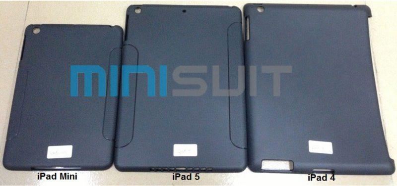 【噂】アクセサリーメーカーMiniSuitが作成したケースからわかる噂のiPad(第5世代)のサイズ