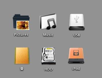 Macのフォルダやアプリケーションなどのアイコンの変更方法、および元のアイコンに戻す方法
