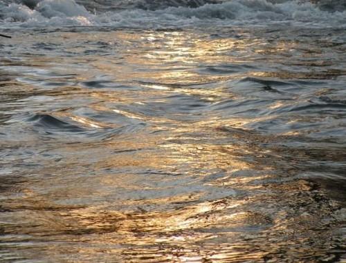 golden water