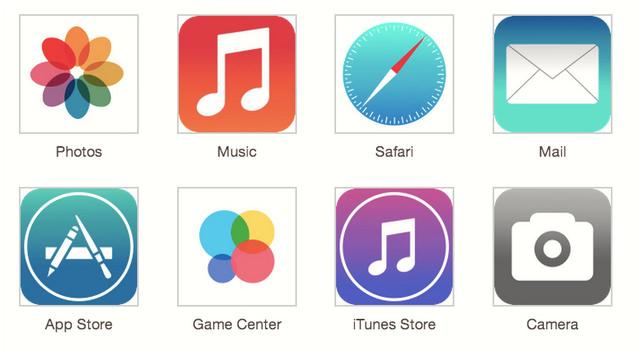iOS7のアプリはこんなデザインになるのか!?