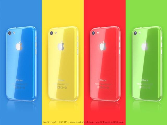 噂の廉価版iPhoneのカラーラインアップはこんな感じになるのかも?