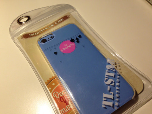 着けると面白いTL-STARのiPhone5c専用ケースを購入してみました!