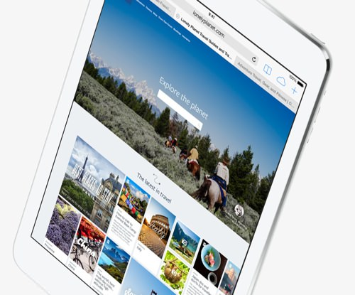 iPad Air、iPad mini Retinaディスプレイモデル、iPad 4th、iPad miniを比較してみました