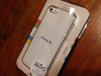 エアージャケットセット for iPhone5c のクリアを購入してみました!