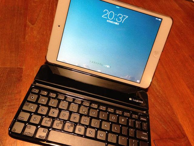 iPadmini用キーボード TM710BKを今更ながら購入しました
