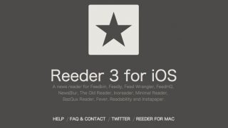 RSS購読に便利なiOSアプリ「Reeder 3 for iOS」
