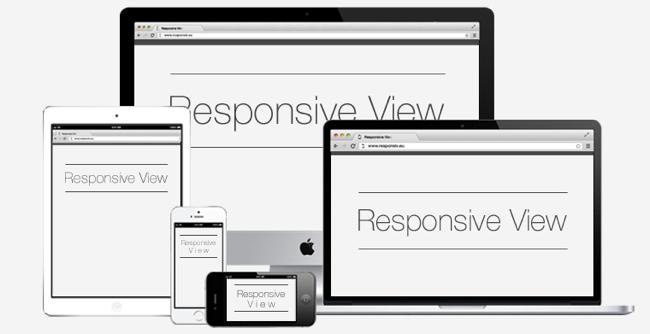 responsive view
