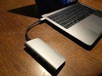 【レビュー】Satechi Type-C アルミ マルチポート アダプター!MacBook Pro2017に最適!