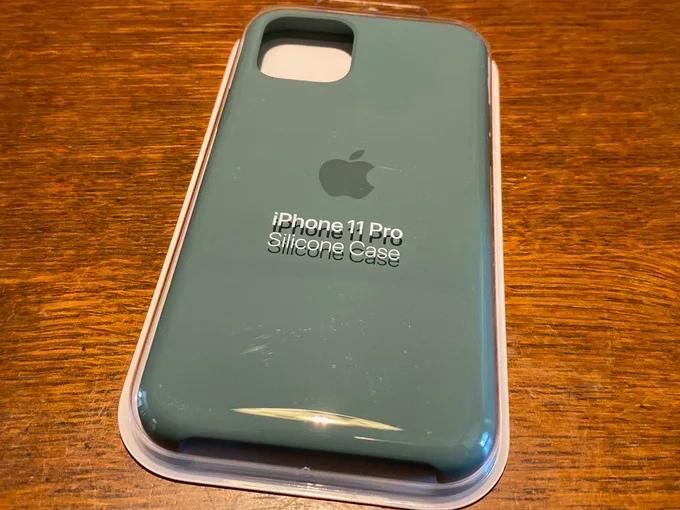 Apple純正 iPhone11Pro シリコーンケース4