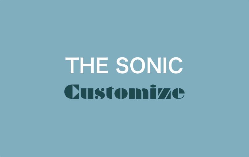 THE SONIC カテゴリ TOP