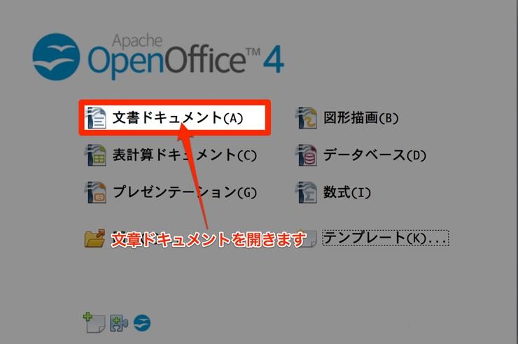 OpenOffice 原稿用紙