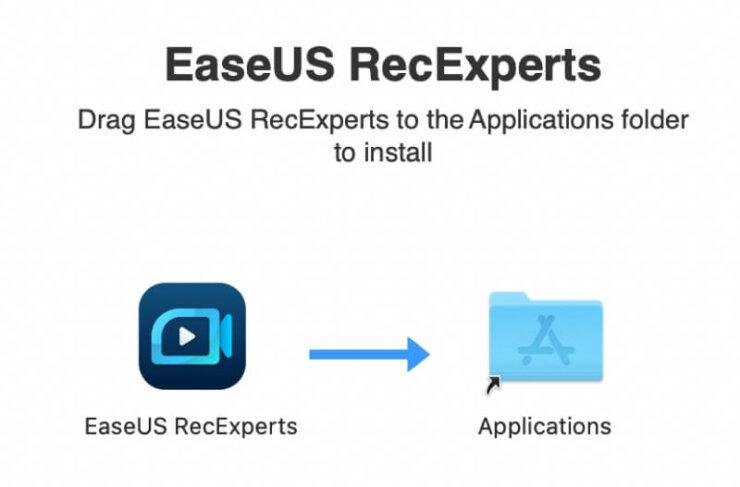 EaseUS RecExperts for Mac インストール